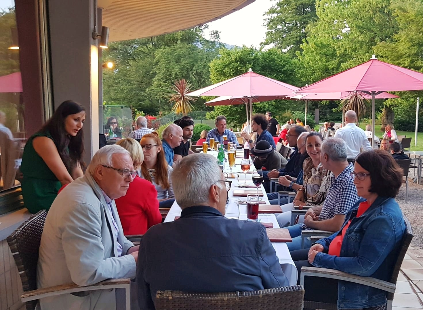 16.07.2019 – Joint dinner with the members of the orchestra