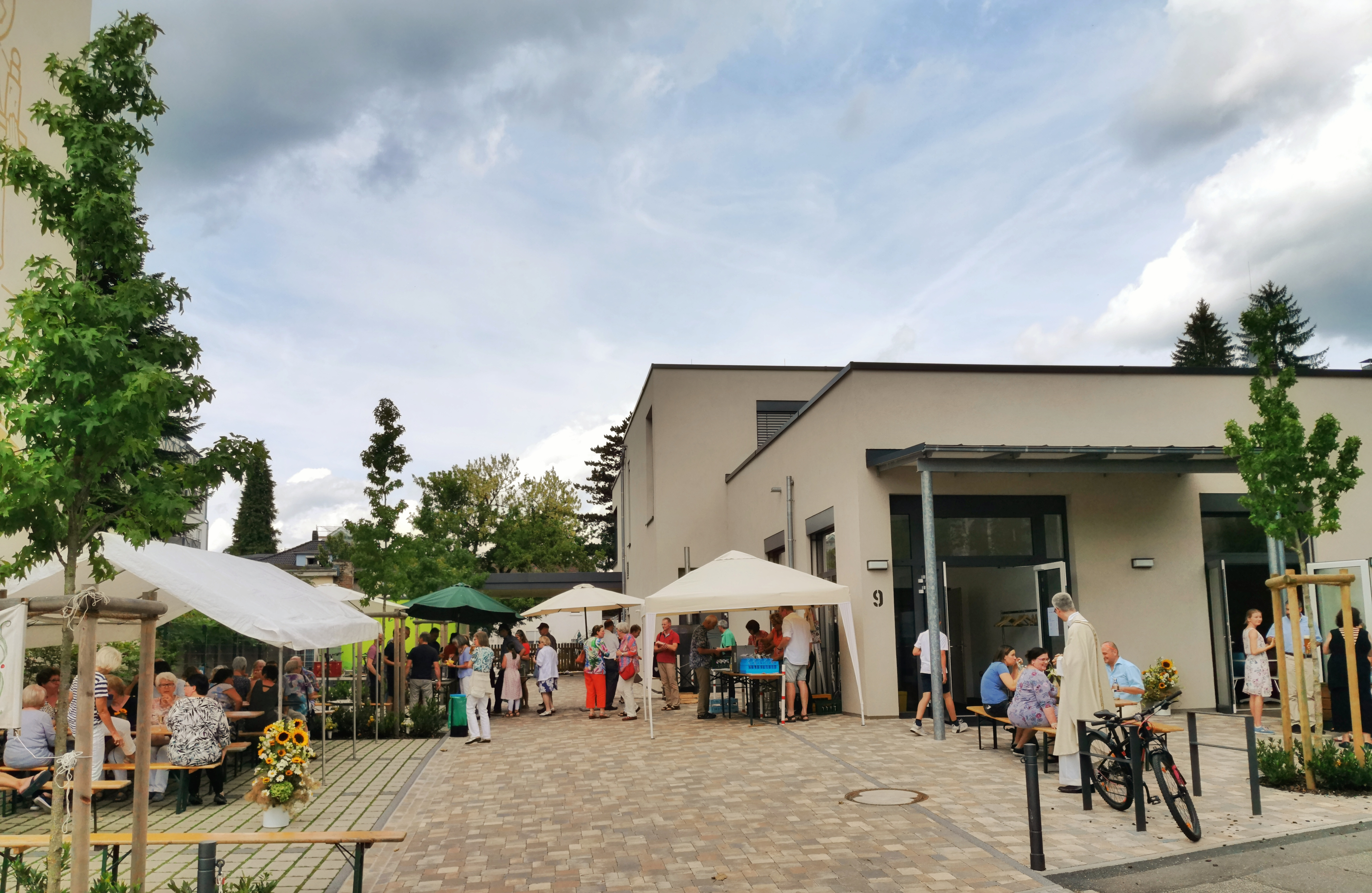 21.07.2019 – Inauguration of the Gemeindehaus St. Bernhard, Baden-Baden