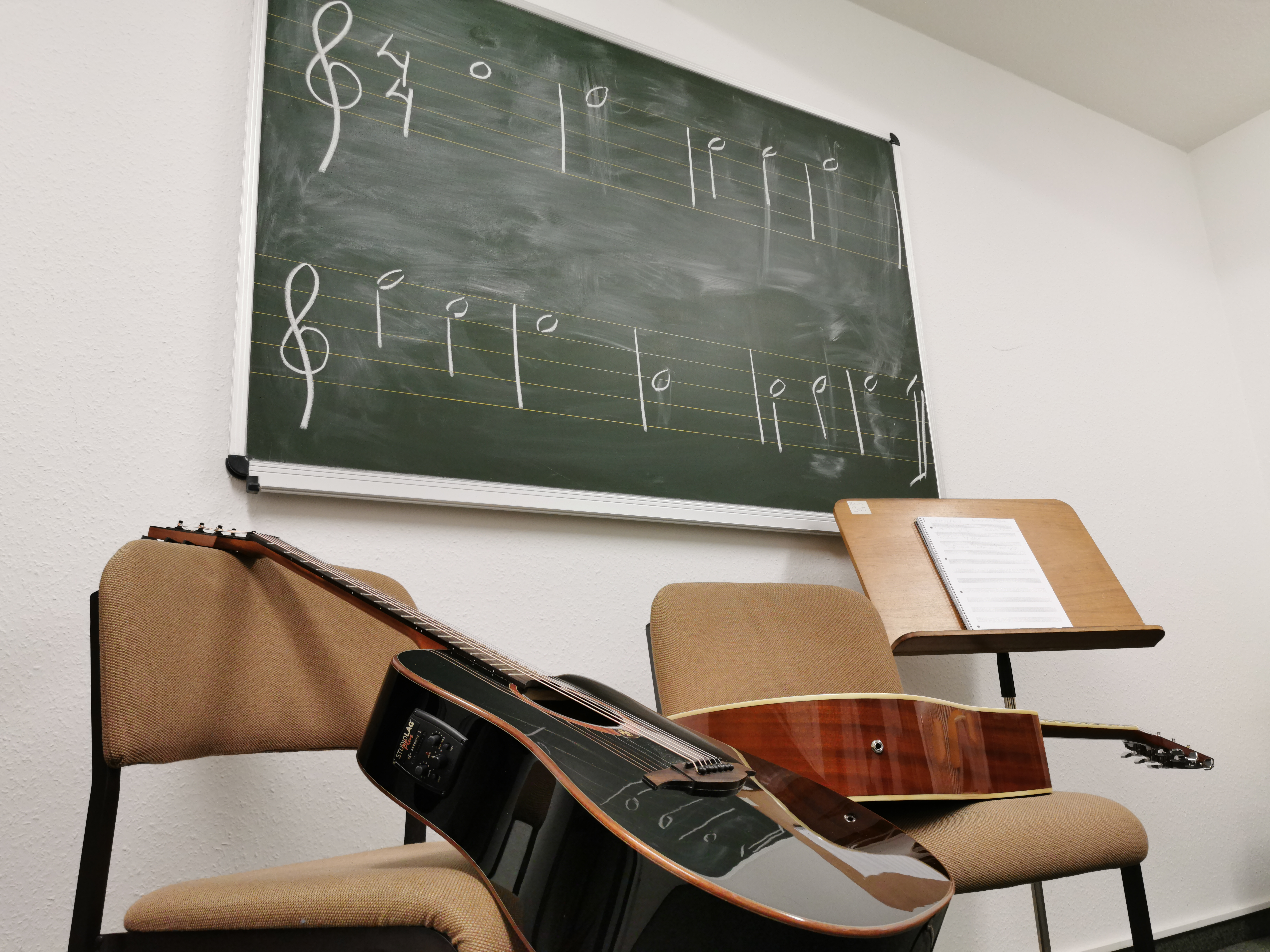 04.11.2019 – Guitar classes have started !