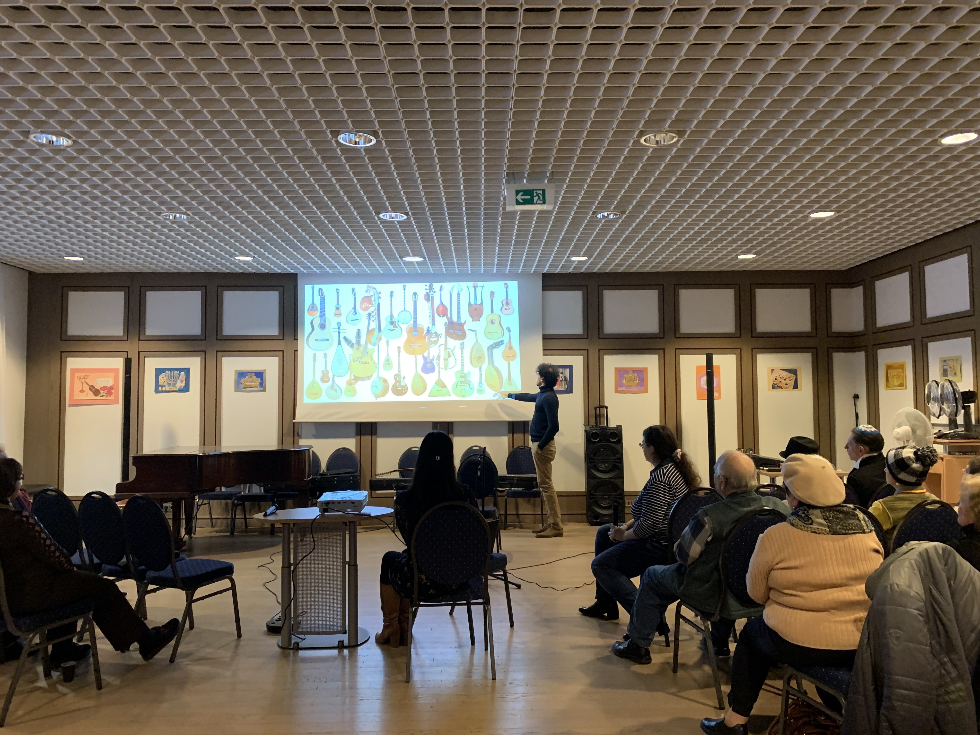 01.12.2019 – Presentation of the project for the Jewish community Baden-Baden
